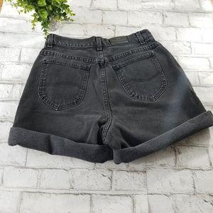 Lee Original Hi-Waisted Jean Shorts Size 14 L